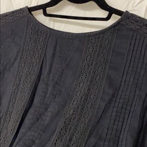 Black Lacy SS Tee